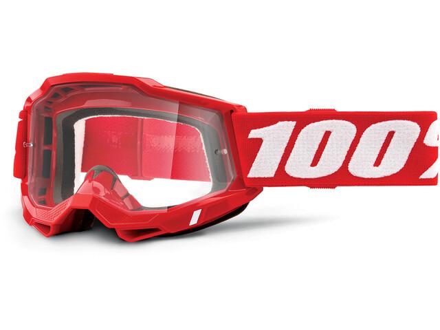 100% Accuri Anti-Fog Goggles Gen2, rojo